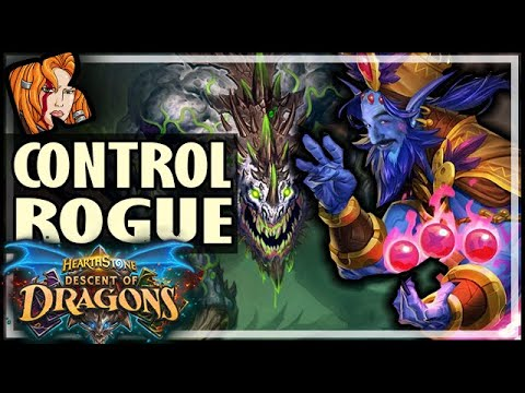 CONTROL ROGUE IS REAL?! - Descent of Dragons Hearthstone