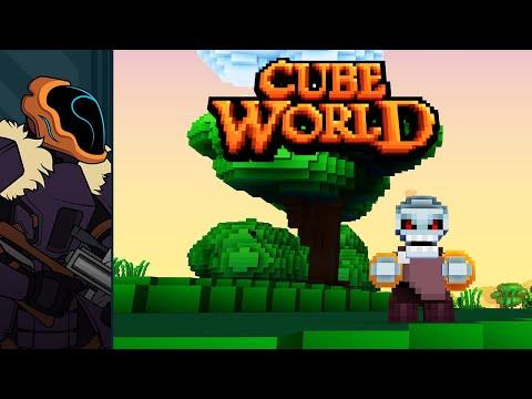 Cube World Quick Look - Being Evil Sucks
