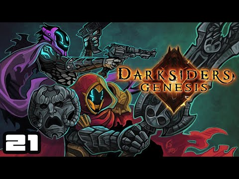 Let's Play Darksiders Genesis [Co-Op] - PC Gameplay Part 21 - Don't Shoot The Messenger