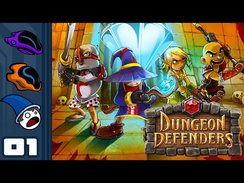 Let's Play Dungeon Defenders - PC Gameplay Part 1 - Tower Defense By Proxy