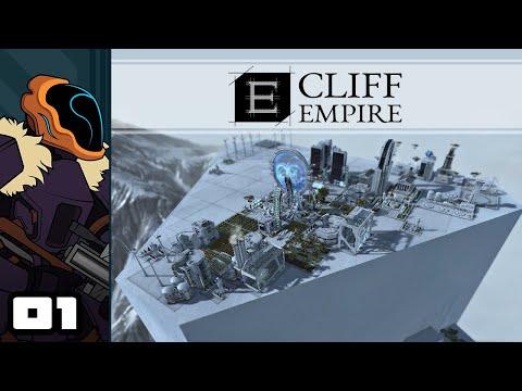 Let's Play Cliff Empire - PC Gameplay Part 1 - Compact Futuristic Metropolis Sim