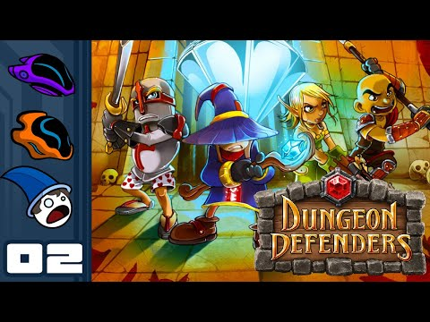 Let's Play Dungeon Defenders - PC Gameplay Part 2 - Pincushion Simulator