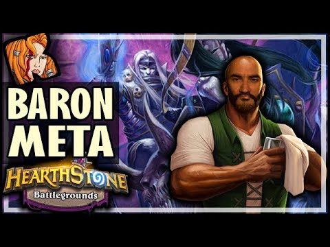 WELCOME TO BARON META! - Hearthstone Battlegrounds