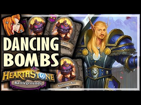 DANCING THROUGH THE BOMBS - Hearthstone Battlegrounds