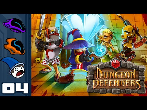 Let's Play Dungeon Defenders - PC Gameplay Part 4 - Pincushion The Demon!