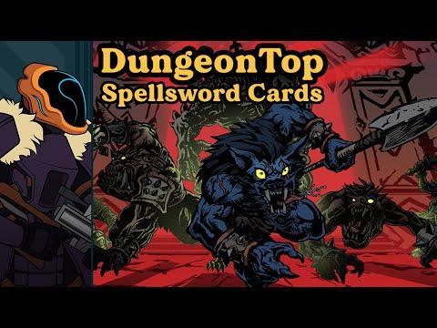 Spellsword Cards: DungeonTop Preview - Dungeon Crawling Deckbuilder & Keep-Away Simulator