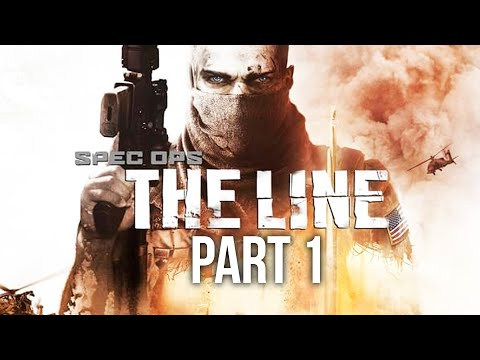 SPEC OPS THE LINE Gameplay Walkthrough Part 1 - Intro
