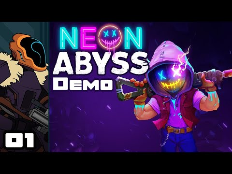 Let's Play Neon Abyss [Beta Demo] - PC Gameplay Part 1 - All Aboard The... Baby Train?!