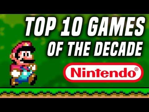Top 10 Nintendo Games of the Decade!
