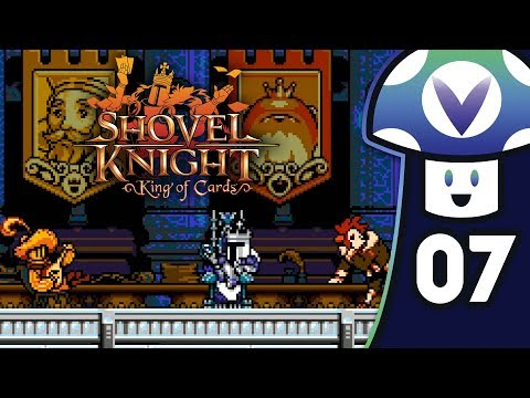 [Vinesauce] Vinny - Shovel Knight: King of Cards (PART 7)