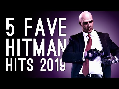 5 Fave Hitman 2 Hits From 2019: MUFFINS! RAKES ! COFFINS! 🔫🗡️💥🍰