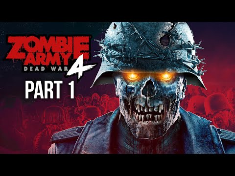 ZOMBIE ARMY 4 DEAD WAR Gameplay Walkthrough Part 1 - FIRST MISSION