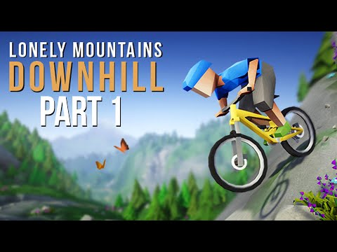 LONELY MOUNTAINS DOWNHILL Gameplay Walkthrough Part 1 - Secret Game of Year for 2019