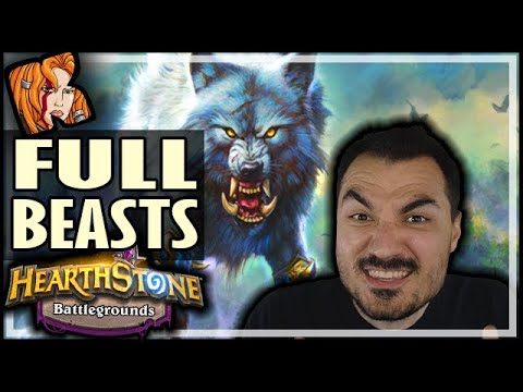 I GOT ALL THE BEASTS! AND SO DID HE?! - Hearthstone Battlegrounds