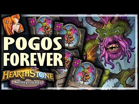 SHUDDERWOCK? POGOS FOREVER! - Hearthstone Battlegrounds