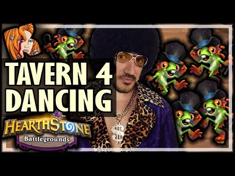 DANCING ON TAVERN 4 IS BACK?! - Hearthstone Battlegrounds