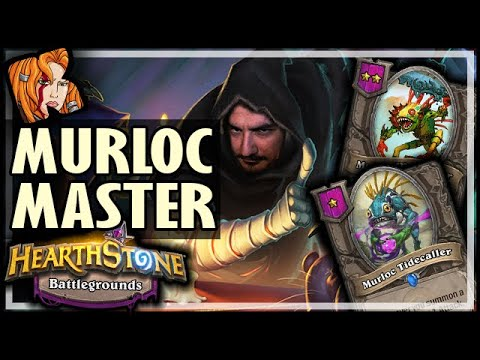 RAFAAM = LAST MURLOC MASTER?! - Hearthstone Battlegrounds