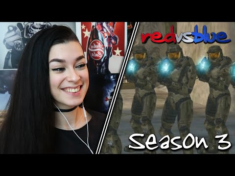 THE GREAT DESTROYER... | Red vs. Blue Reaction | Season 3 | EP 13-19