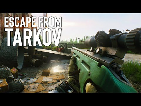 Late night Escape from Tarkov with Friends!