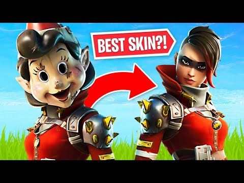 WORST SKIN to BEST SKIN!! (Fortnite Battle Royale)
