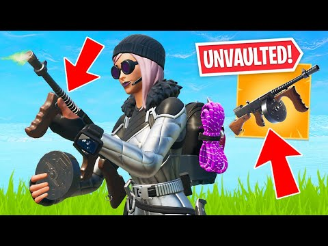DRUM GUN UNVAULTED!! New Item Shop Skins! (Fortnite Battle Royale)