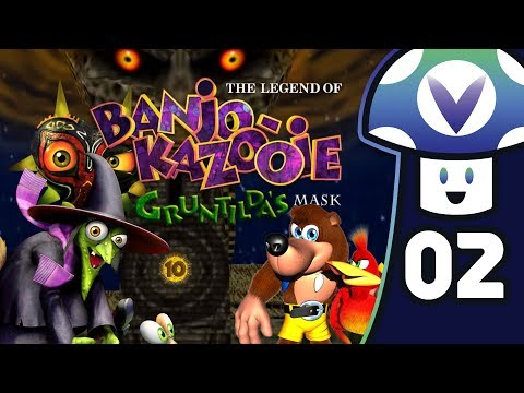 [Vinesauce] Vinny - The Legend of Banjo-Kazooie: Gruntilda's Mask (PART 2 Finale)