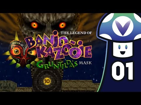 [Vinesauce] Vinny - The Legend of Banjo-Kazooie: Gruntilda's Mask (PART 1)