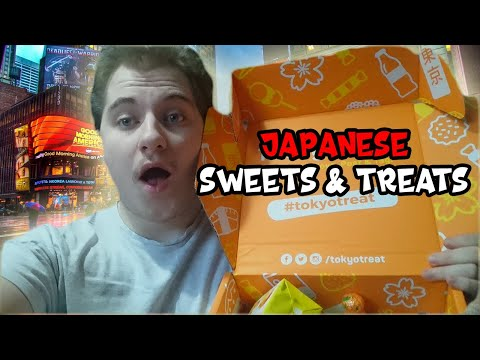 Trying Japanese Sweets + Snacks: Tokyo Treat Unboxing ( January Box)