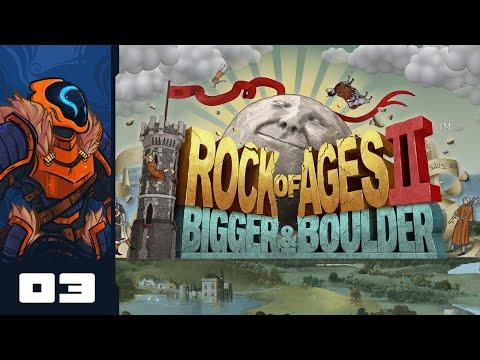 Let's Play Rock of Ages 2: Bigger & Boulder - PC Gameplay Part 3 - Donk Donk Donk Donk Donk Donk