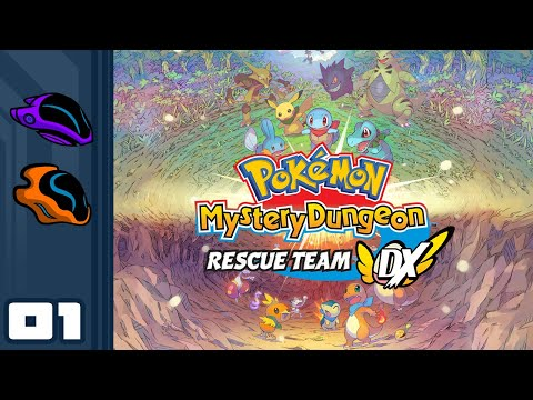 Let's Play Pokemon Mystery Dungeon Rescue Team DX - Switch Gameplay Part 1 - Hungy Helpy!