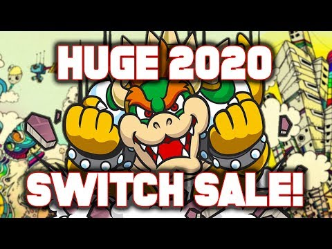 BEST 2020 eShop Sale?! Nintendo Switch HUGE 2020 Sale on New Games!