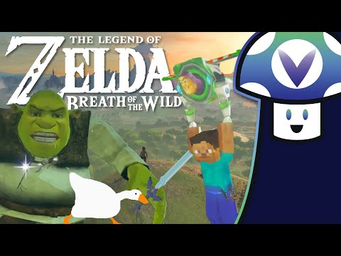 [Vinesauce] Vinny - Zelda: Breath of the Wild — Small Mod Showcase + 60fps Revisit