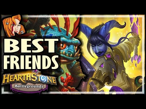 MY BEST FRIENDS RETURN! - Hearthstone Battlegrounds