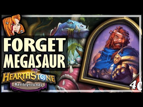 GEORGE CARES NOT FOR MEGASAURS! - Hearthstone Battlegrounds