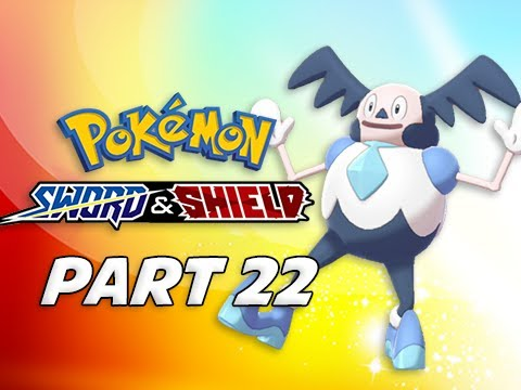 POKEMON SWORD & SHIELD Walkthrough Part 22 - Galarian Mr. Mime (Nintendo Switch)