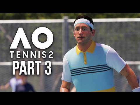 AO TENNIS 2 Career Mode Part 3 - THIS GAME IS GOING BREAK ME !!!