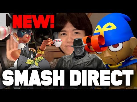 NEW Smash Bros 5th DLC THIS WEEK! Smash Bros Direct Predictions 1.16.20! (Nintendo Switch)