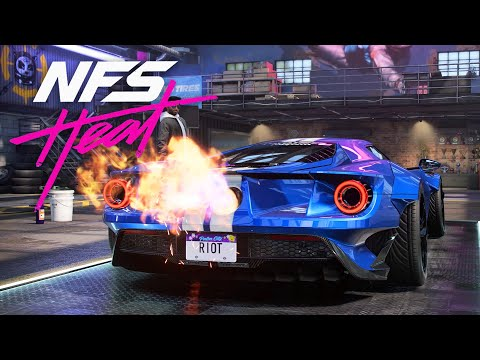 ANGRY WIDEBODY FORD GT BUILD - NEED FOR SPEED HEAT Gameplay Walkthrough Part 34