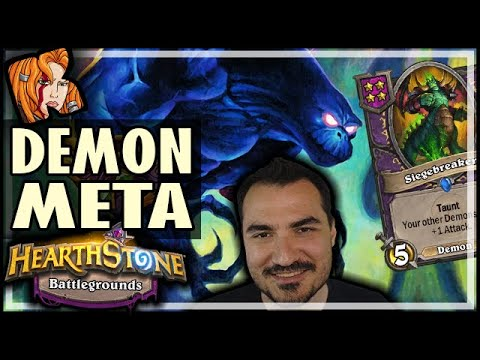 THE DEMON META HAS BEGUN - Hearthstone Battlegrounds