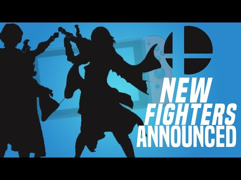 Who Are The 6 New Smash Bros DLC Fighters for 2020 and 2021 on Nintendo Switch?