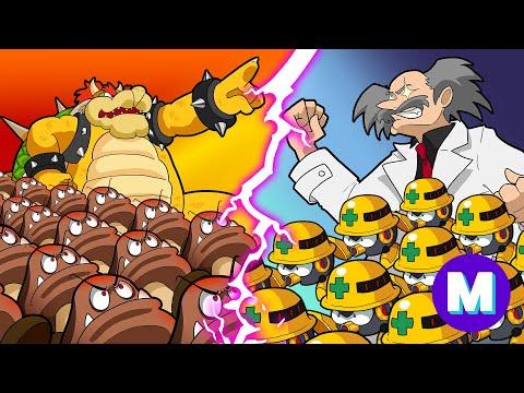 SUPER MARIO vs MEGA MAN - GRUNT BATTLE