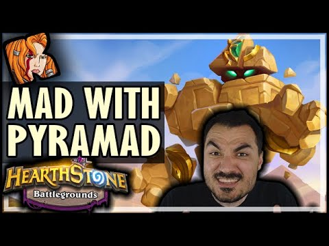 GETTING MAD WITH PYRAMAD?! - Hearthstone Battlegrounds