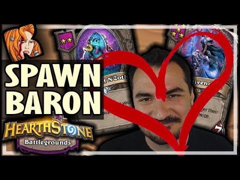 ALWAYS SPAWN! ALWAYS BARON! - Hearthstone Battlegrounds