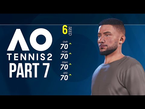 AO TENNIS 2 Career Mode Part 7 - THIS IS IMPOSSIBLE