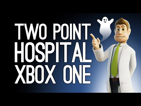 Two Point Hospital Xbox One Gameplay: MIKE'S HAUNTED HOSPITAL! (Let's Play Two Point Hospital)