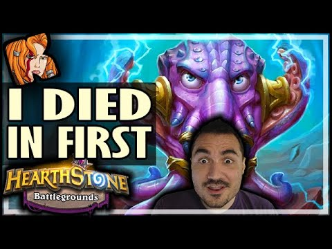 BGs BROKE?! DIED IN FIRST! - Hearthstone Battlegrounds