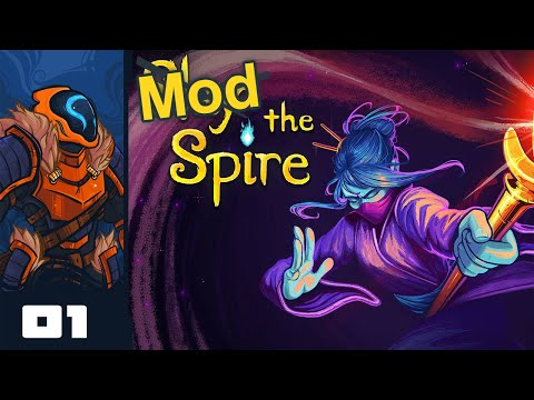 Let's Play Slay the Spire (Modded) - PC Gameplay Part 1 - My Face!
