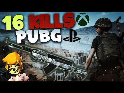 16 KILLS SOLO - SKS IS SO GOOD - PUBG Xbox One / PS4 Gameplay