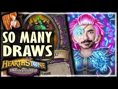 THESE DRAWS ARE ENDLESS! - Hearthstone Battlegrounds