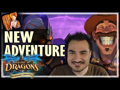 MECHA'CHEESE vs ETHICAL GALAKROND ADVENTURE! - Hearthstone Galakrond's Awakening